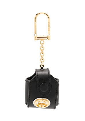 Gucci GG AirPods keyring case - Black