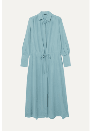 Joseph - Evie Silk Crepe De Chine Midi Dress - Blue