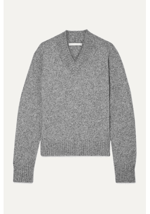 Helmut Lang - Mélange Knitted Sweater - Gray