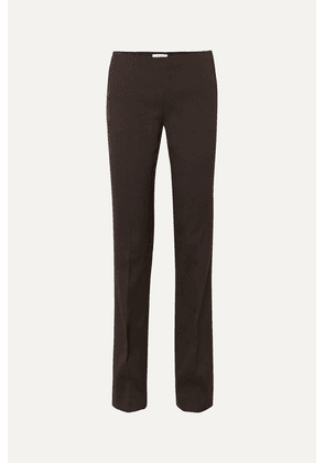 The Row - Ladan Cady Straight-leg Pants - Brown