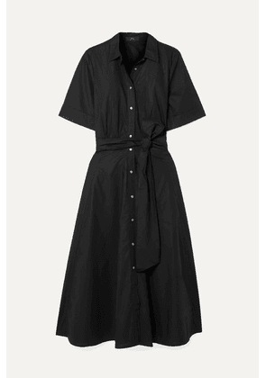 J.Crew - Redbury Cotton-poplin Midi Dress - Black