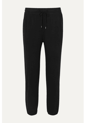 James Perse - Cotton-blend Jersey Track Pants - Black