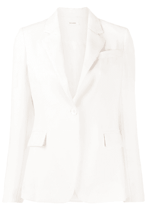P.A.R.O.S.H. Panters single-breasted blazer - White