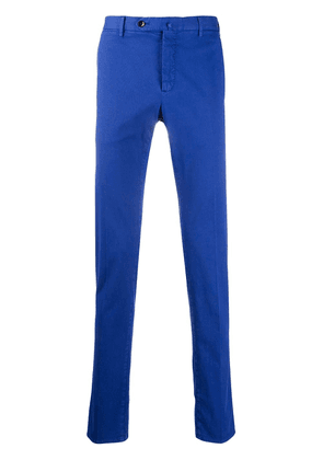 Pt01 slim-fit mid-rise chinos - Blue