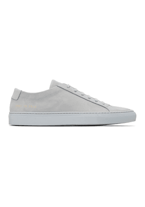 Common Projects SSENSE Exclusive Grey Original Achilles Low Sneakers
