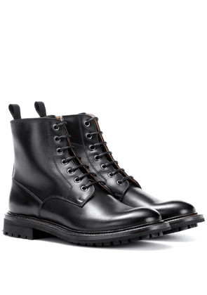 Antic leather ankle boots