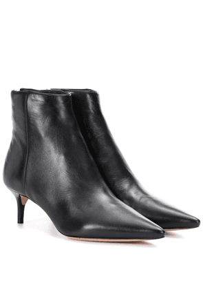 Kittie leather ankle boots
