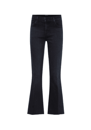 Selena mid-rise bootcut jeans