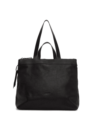 Marsell Black Leather Tote