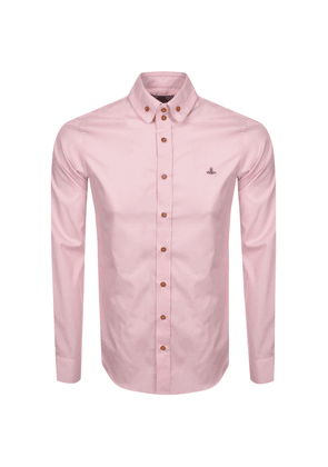 Vivienne Westwood Long Sleeved Shirt Pink