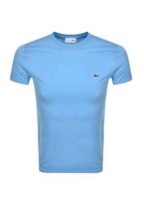 Lacoste Crew Neck T Shirt Blue
