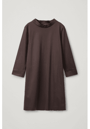 SMOOTH DRESS WITH MOCK NECK