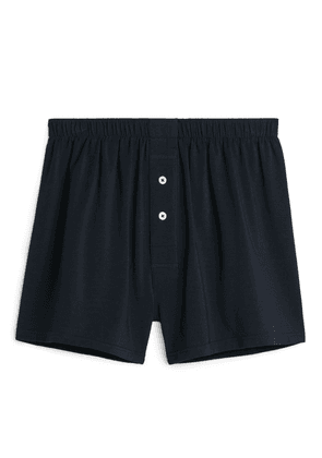 Pima Cotton Boxer - Blue