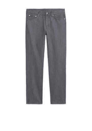 Regular Grey Wash Jeans - Grey