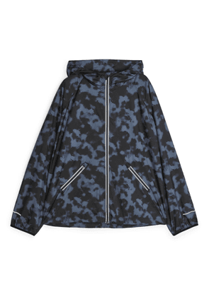 Running Windbreaker Jacket - Grey