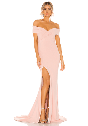 Nookie Neptune Gown in Pink. Size M,S,XS.