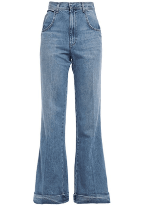 Re/done High-rise Flared Jeans Woman Mid denim Size 24