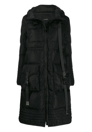 Pinko padded puffer coat - Black
