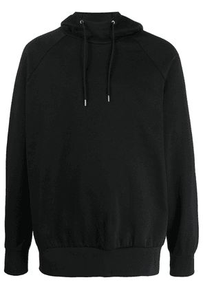 PS Paul Smith striped long-sleeved hoodie - Black