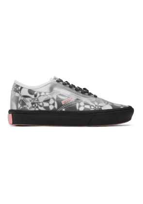 Vans Black and White PVC Zhou Zhou Edition Comfycush Slip-Skool Sneakers
