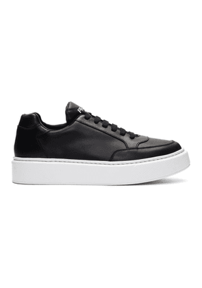 Prada Black and White Mountain Sneakers