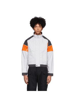 Affix Grey and Orange Work Jacket