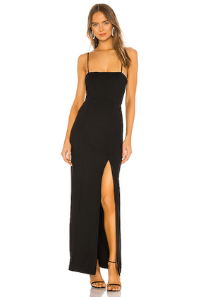 NBD Eileen Gown in Black. Size XS.