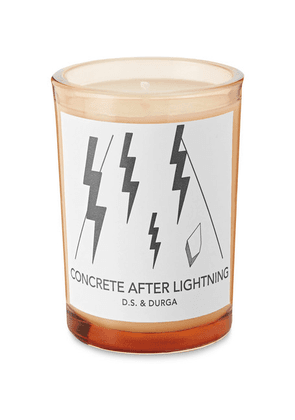 D.S. & Durga - Concrete After Lightning Scented Candle, 200g - Colorless