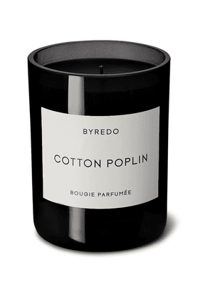 Byredo - Cotton Poplin Scented Candle, 240g - Colorless