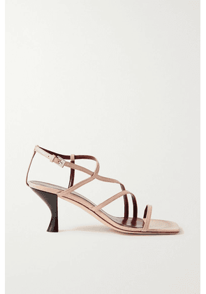 STAUD - Gita Leather Sandals - Beige