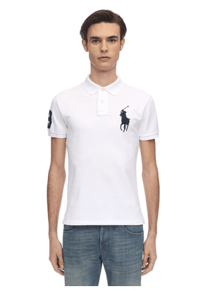 Big Pony Cotton Piquet Polo Shirt