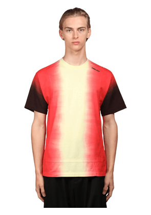 Logo Tie Dye Cotton Jersey T-shirt