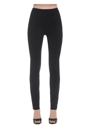 Compact Stretch Jersey Leggings
