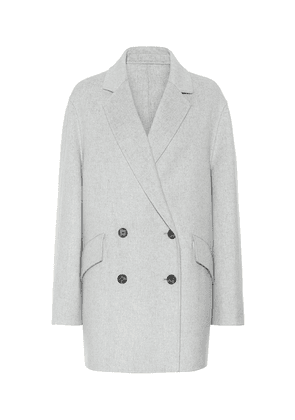 Milburn wool and cashmere coat