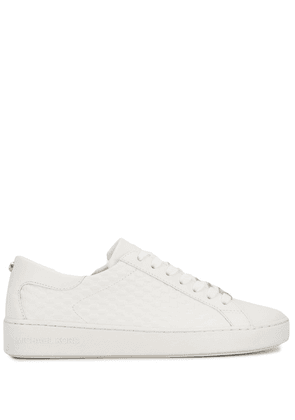 Michael Michael Kors round toe lace up sneakers - White