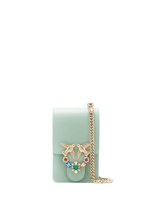 Pinko Smart Love cross body bag - Green