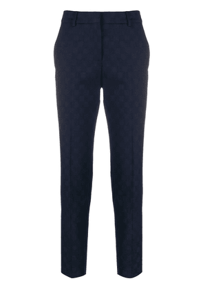 PS Paul Smith checkered trousers - Blue