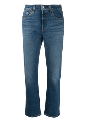 Levi's cropped jeans - Blue