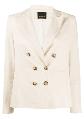 Pinko double breasted blazer - NEUTRALS