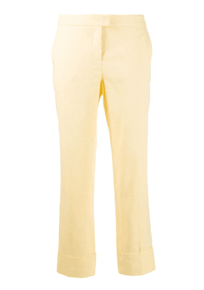 Fabiana Filippi cropped tailored trousers - Yellow