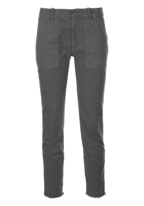 Nili Lotan regular slim-fit trousers - Grey