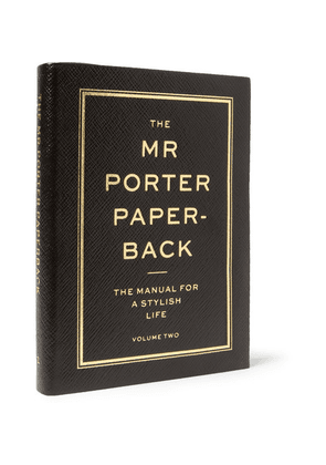 The Mr Porter Paperback - The Manual For A Stylish Life: Volume Two Limited Edition Smythson Leather-bound Book - Black