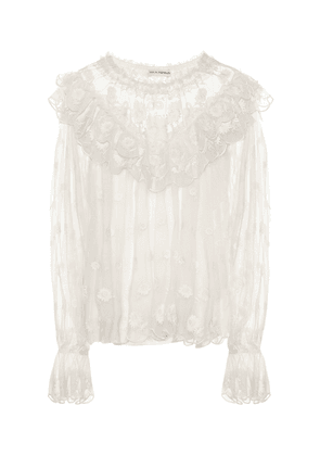 Lucien embroidered blouse
