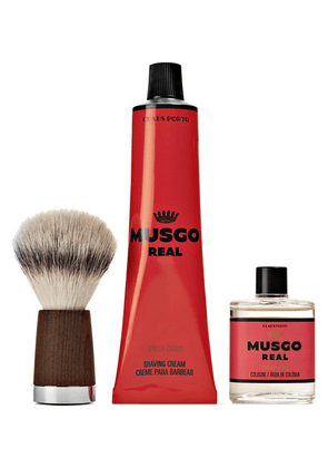 Claus Porto - Musgo Real Spiced Citrus Gift Set - Red