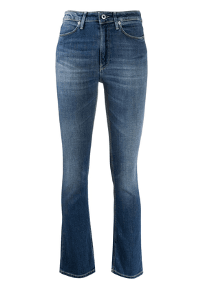 Dondup Charlotte mid-rise bootcut jeans - Blue