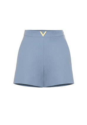 VGOLD wool and silk shorts