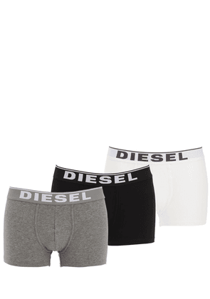 Pack Of 3 Stretch Cotton Boxer Briefs