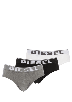 Pack Of 3 Stretch Cotton Jersey Briefs