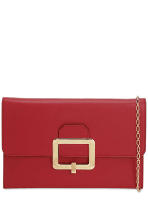 Jody Smooth Leather Clutch