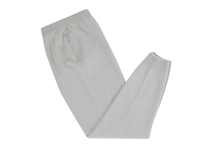 Light Grey Cashmere Tracksuit Trousers